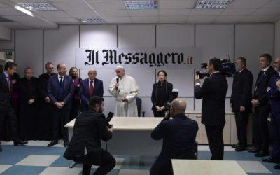 """Papa pede que os Direitos Humanos estejam """"no coração das políticas"""""""