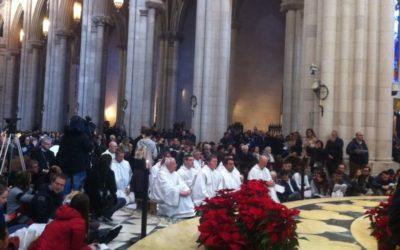 """A """"invasão"""" catalã da catedral de Madrid"""