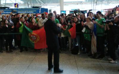 Patriarca à chegada a Lisboa: protagonismo das JMJ será dos jovens