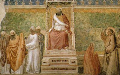 Ensaio: Francisco de Assis e Francisco de Roma encontram-se com os irmãos muçulmanos