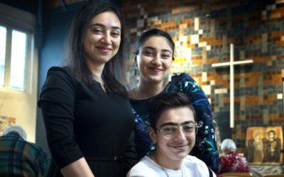 Terminou a celebração ininterrupta pela família Tamrazyan
