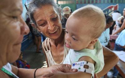 """Cáritas ajuda mães e crianças na Venezuela através do projeto """"Nutrir com Esperança"""""""