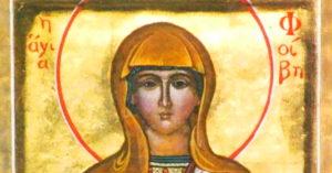 Santa Febe, mulher diácono