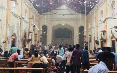 Hoje não há missas no Sri Lanka e a prioridade é reconstruir vidas, não igrejas