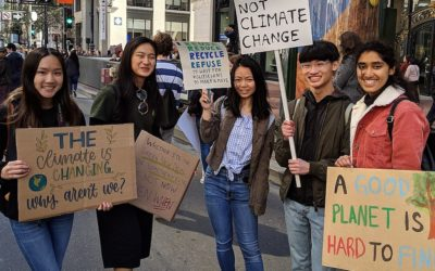 """Emergência climática: milhões de jovens na rua para """"serem ouvidos"""""""