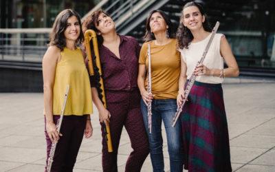 Terras Sem Sombra em Odemira: do flamenco ao jazz, um Quartetazzo de mulheres na flauta