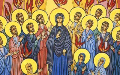 Missa de Pentecostes ou a festa da linguagem