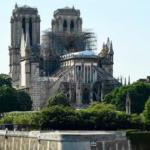 Primeira missa depois do incêndio em Notre-Dame: o vídeo da transmissão