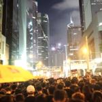 """""""Canta Aleluia ao Senhor"""", um canto cristão na resistência de Hong Kong"""