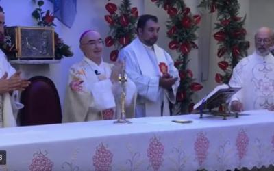 """Padre Martins na visita do bispo à Ribeira Seca: """"Quem segura a Igreja são as pessoas"""""""