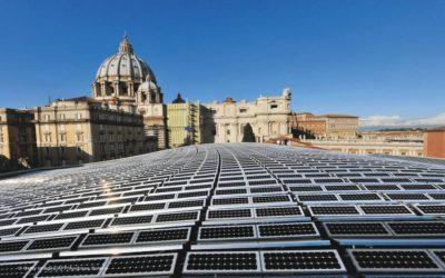 Plástico acaba no Vaticano até 2020