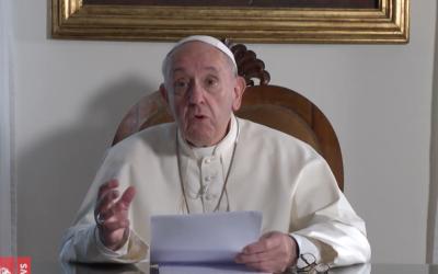 """Clima precisa de """"vontade política, honestidade, responsabilidade e valentia"""", diz o Papa Francisco"""