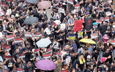 O meu reino é deste mundo – os cristãos nos protestos pró-democracia de Hong Kong
