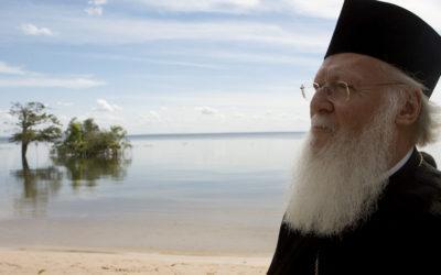 """Patriarca Bartolomeu diz que é """"vital"""" ligar defesa ecológica e fé cristã"""