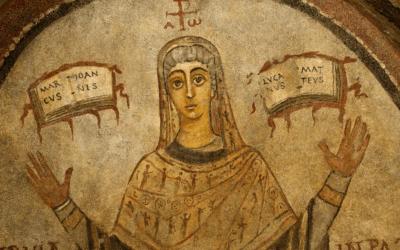 Arte mostra que mulheres já lideraram comunidades cristãs