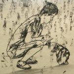 Uma metáfora da condição humana na obra de um escultor iemenita, para ver em Bragança
