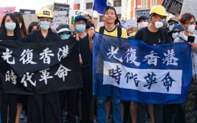 Hong Kong é o novo manual de protesto para o século XXI