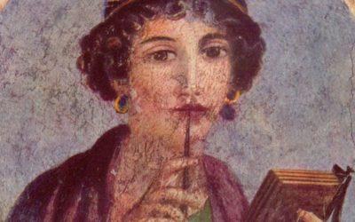 A primeira poetisa da Europa