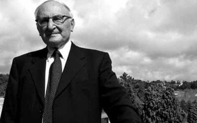 """Johann-Baptist Metz, teólogo e """"místico de olhos abertos"""" (Obituário e entrevista)"""