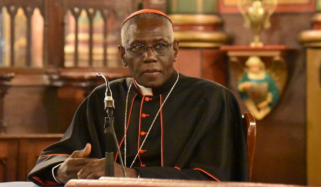 Livro do cardeal Sarah (e Ratzinger) sobre o celibato publicado em Portugal no final de Fevereiro