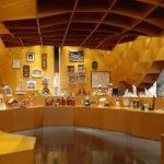 A gruta favo-de-mel onde nasceu uma colecção de presépios