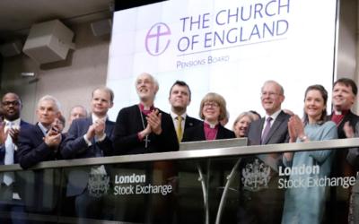 Conselho de Pensões anglicano deixa de investir em empresas que não cumprem metas do Acordo de Paris