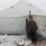 Mais de meio milhão de crianças deslocadas na Síria em condições extremas