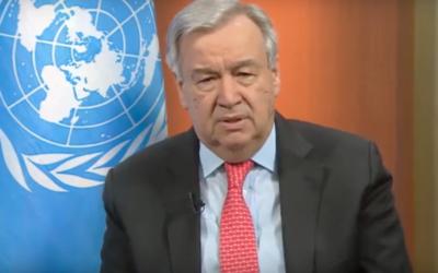 Covid-19: Guterres em cimeira de emergência do G-20 para intensificar apelo a cessar-fogo global e à união de todos os governos