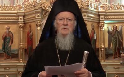 Patriarca de Constantinopla apela à responsabilidade e à esperança perante a covid-19