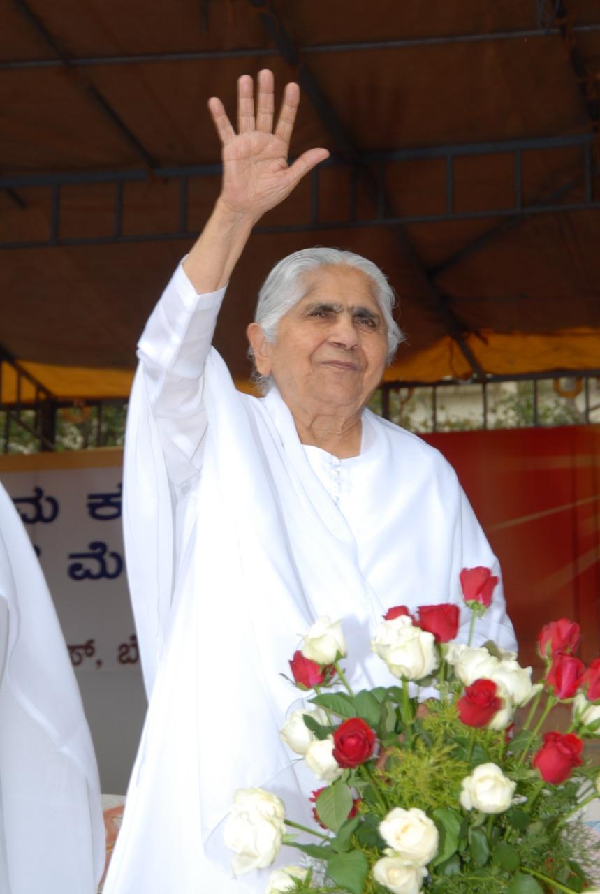 Rajyogini Dadi Jankiji, directora da Brahma Kumaris