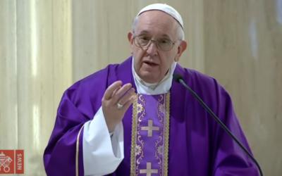 Missa diária do Papa deixa de ser transmitida a 19 de maio