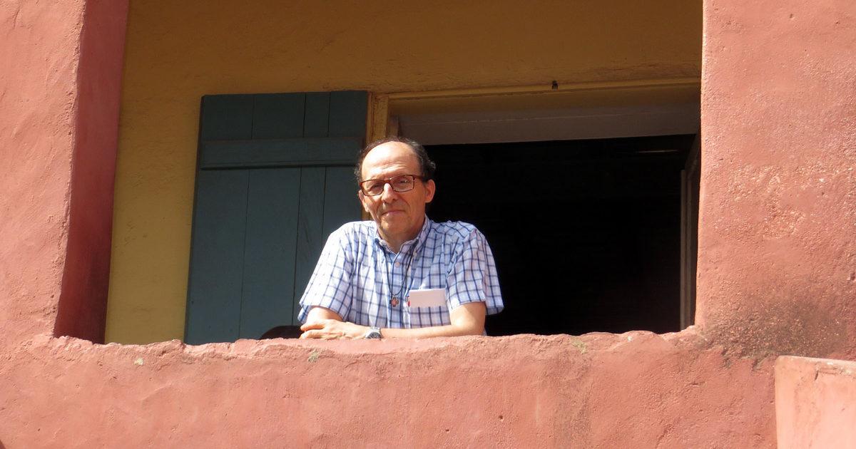 Padre Tony Neves em Dacar, Senegal