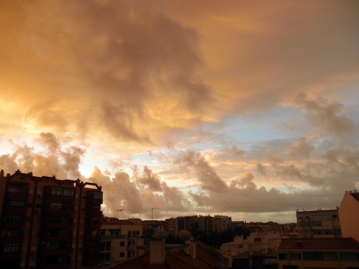 Céu. Nuvens