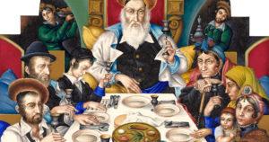 Haggada de Pessah. Obra de Arthur Szyk (1894-1951).