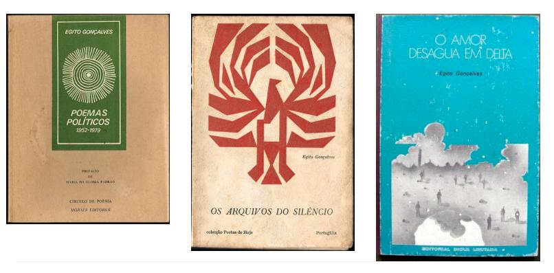 Livros de Egito Gonçalves