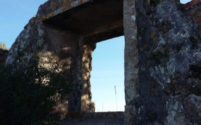 Diários de quarentena (34): O infinito na palma da mão, numa ruína em Sintra