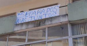 Cartaz em Sintra - covid-19