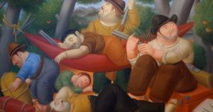 """Fernando Botero, """"Guerrilla de Eliseo Velásquez"""""""