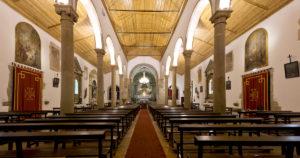 Igreja matriz das Areias.