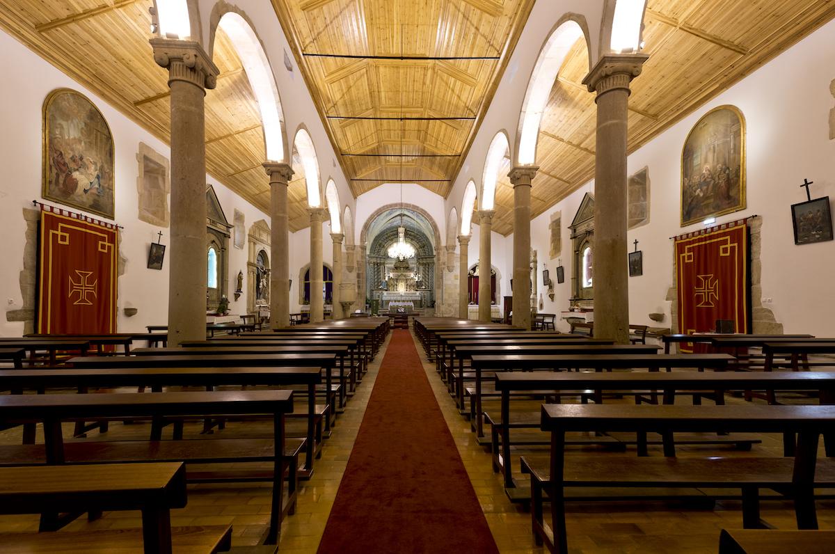 Igreja matriz das Areias. Ferreira do Zêzere
