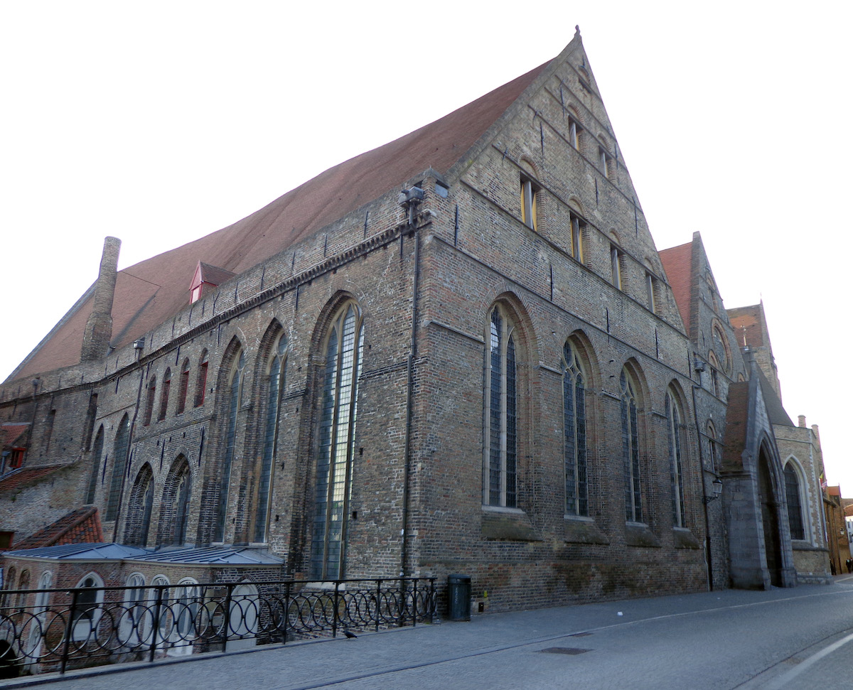 Hospital medieval de S. João de Bruges (Bélgica)