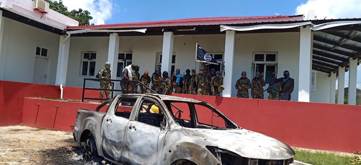 Ataque de grupos armados, que se reivindicam do Daesh, na província de Cabo Delgado (Moçambique).
