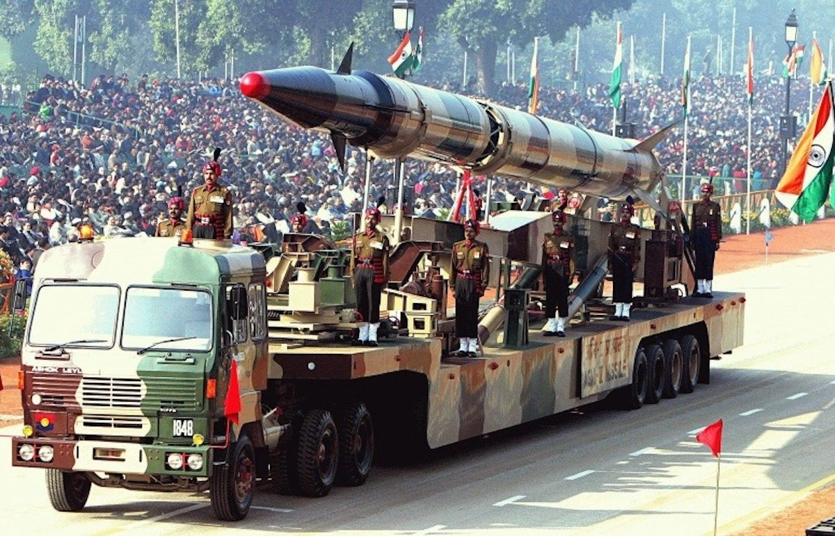 Míssil. Armas. Índia