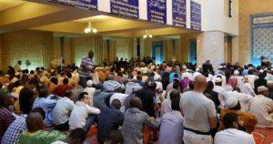 Mesquita Central de Lisboa. Oração. Islão