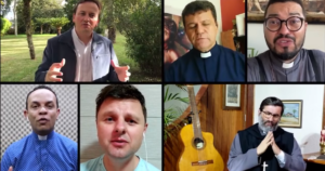 padres cantores brasileiros print screen do vídeo