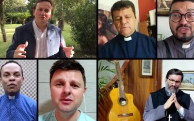 Padres cantores brasileiros encantam mais de um milhão nas redes sociais