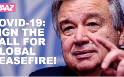 Quase 2 milhões já apoiaram apelo de Guterres ao cessar-fogo global