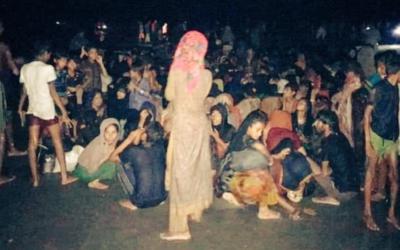 Quase 400 refugiados rohingya resgatados na costa do Bangladesh, 32 já sem vida