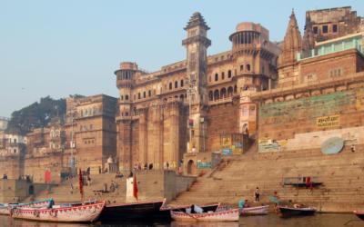 """Varanasi, a """"cidade dos mortos"""" da Índia, também está vazia"""