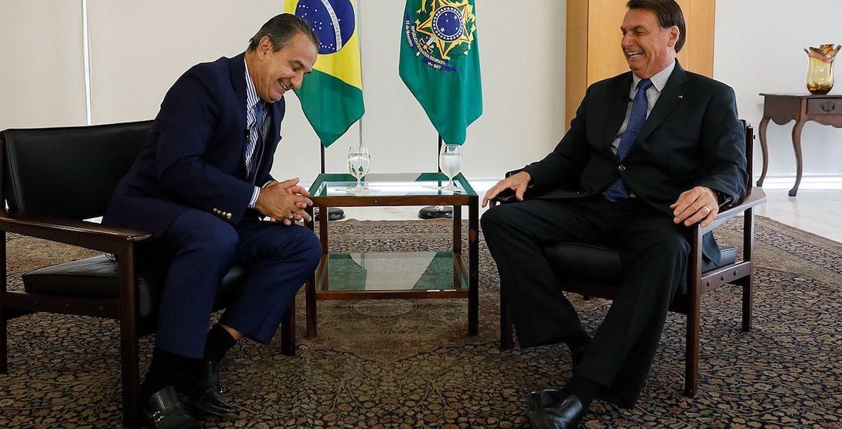 pastor Silas Malafaia com Jair Bolsonaro, Presidente do Brasil